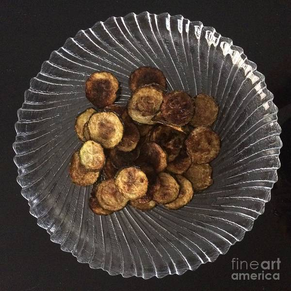 Photograph - Zucchini Baked Dry by Robin Maria Pedrero