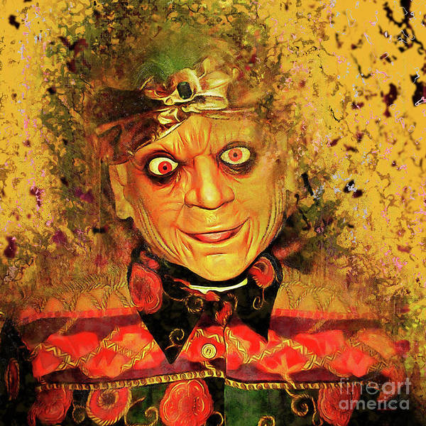 Photograph - Zultan The Fortune Teller 20161108sq by Wingsdomain Art and Photography