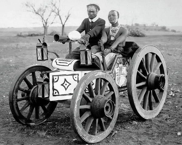 Photograph - Zulu Motor Cab 1903 by Anthony Murphy
