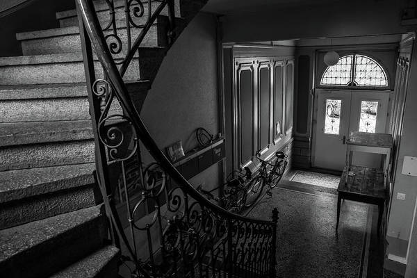 Photograph - Zurich Stairwell by Christopher Brown