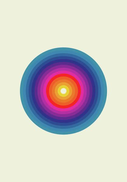 Blue Eye Digital Art - Zykol by Nicholas Ely
