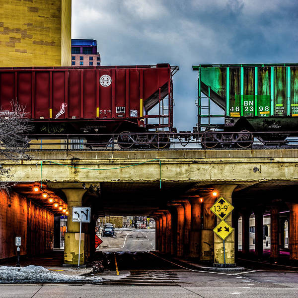 Photograph - 000 - Lowertown Overpass by David Ralph Johnson
