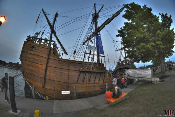Wall Art - Photograph - 0011 Tall Ships Noa Santa Maria by Michael Frank Jr
