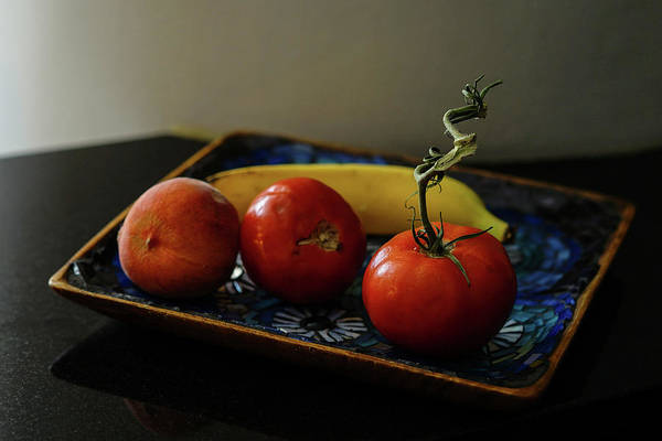 Photograph - 009 - Red Tomato by David Ralph Johnson