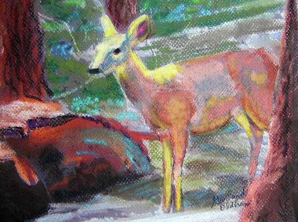 Pastel - 011719 Bambi 's Day Out by Garland Oldham