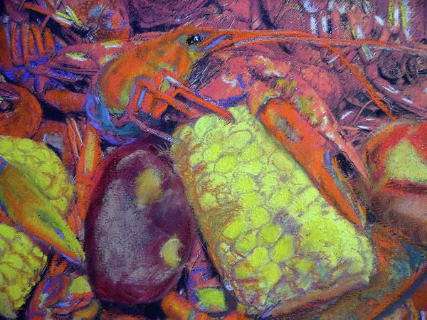 Pastel - 012419, Cajun Mud Bugs by Garland Oldham