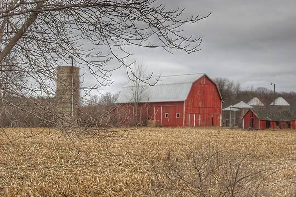 Photograph - 0229 - Barns Of Arbela I by Sheryl L Sutter