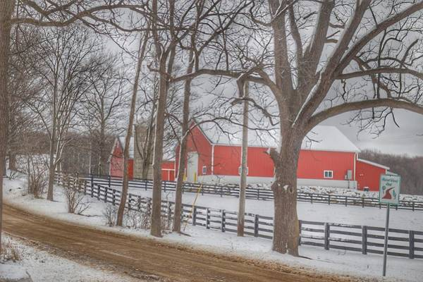 Photograph - 0232 - Barns Of Barber Road by Sheryl L Sutter