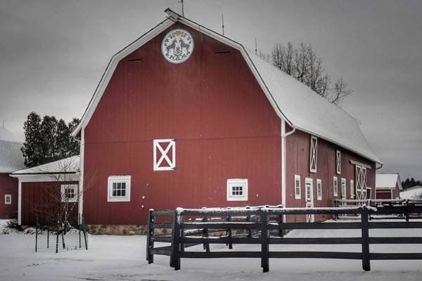 Photograph - 0233 - Barns Of Barber Road IIi by Sheryl L Sutter