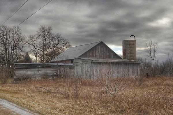Photograph - 0239 - Church Road Grey by Sheryl L Sutter