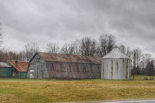 Photograph - 0255 - Hough Roads Green Quonset by Sheryl L Sutter