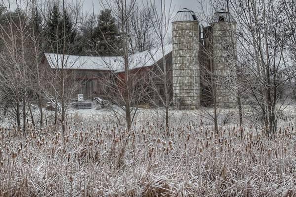 Photograph - 0267 - Washburn Roads Hidden Red by Sheryl L Sutter