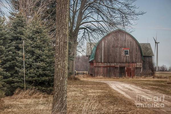 Photograph - 0274 - Barns Of Deckerville Road I by Sheryl L Sutter