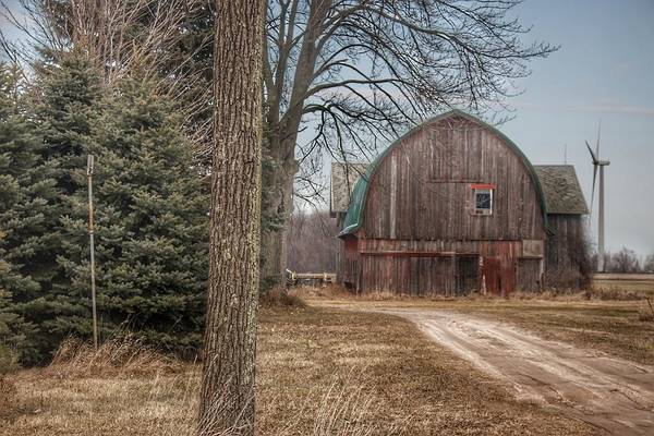 Photograph - 0274 - Barns Of Deckerville Road I by Sheryl Sutter