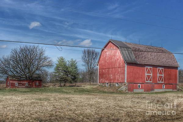 Photograph - 0286 - Kings Mill Road Red by Sheryl L Sutter