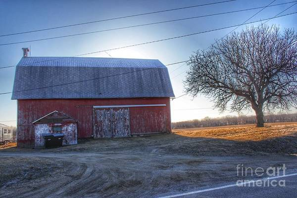 Photograph - 0295 - Rochester Road Red II by Sheryl L Sutter