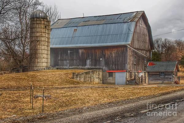 Photograph - 0297 - Seymour Lakes Roadside Barn by Sheryl L Sutter