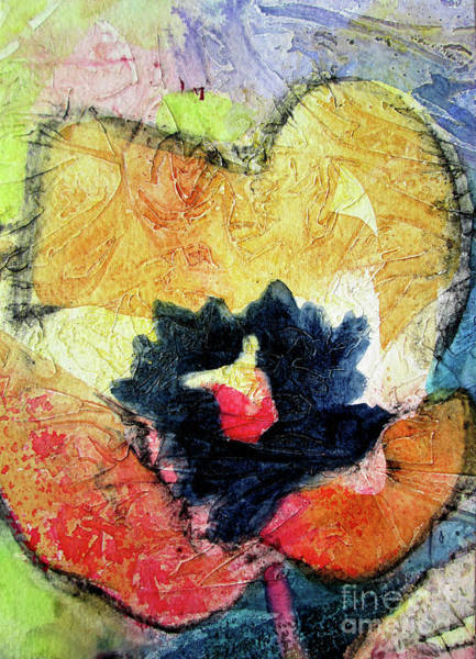 Wall Art - Painting - 03 Tulip Crinkle by Kathy Braud