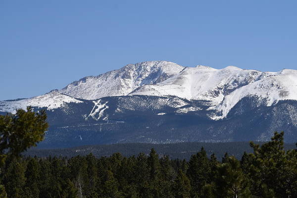 Photograph - 04-09-17 Pikes Peak  by Margarethe Binkley