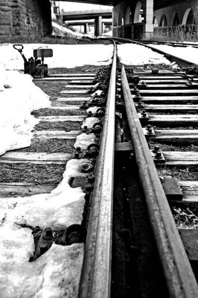 Photograph - 041 - Rail Switch by David Ralph Johnson