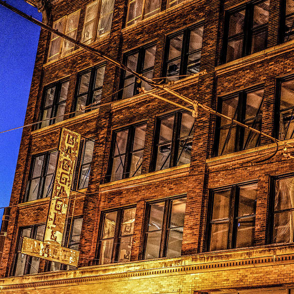 Photograph - 072 - Jax Building by David Ralph Johnson