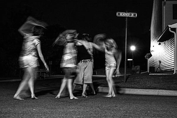 Photograph - 047 - Night Dancing by David Ralph Johnson