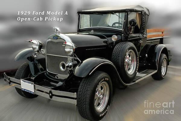 Wall Art - Photograph - 1929 Model A Ford Truck by Robert Alsop