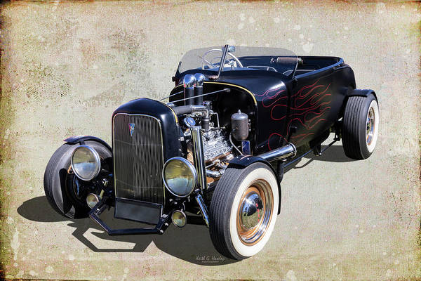 Wall Art - Photograph - 1929 Roadster by Keith Hawley