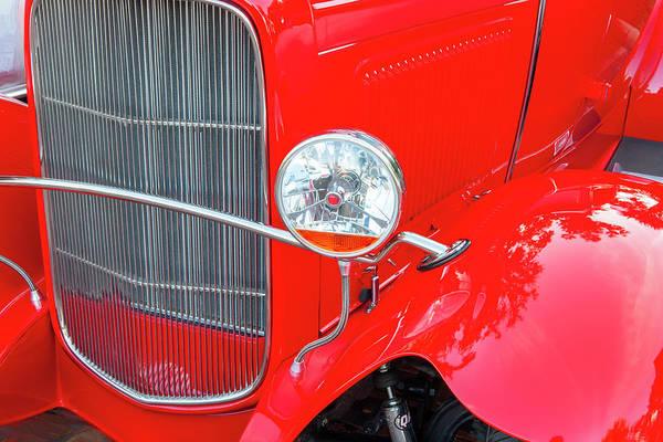 Photograph - 1932 Ford Tudor Sedan 004 by Rich Franco
