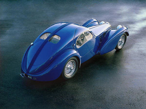 Sport Car Photograph - 1938 Bugatti Type 57sc Electron by Car Culture