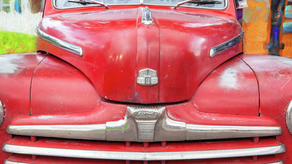 Photograph - 1947 Ford Super Deluxe Coupe 004 by Rich Franco