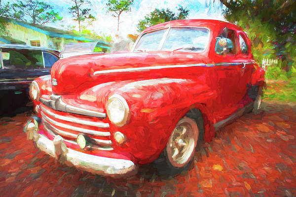 Photograph - 1947 Ford Super Deluxe  by Rich Franco