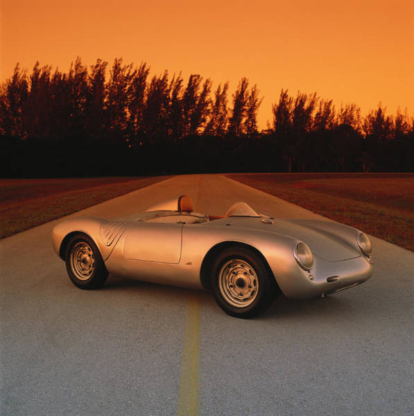 Sport Car Photograph - 1956 Porsche 550a 1500rs Spyder by Car Culture