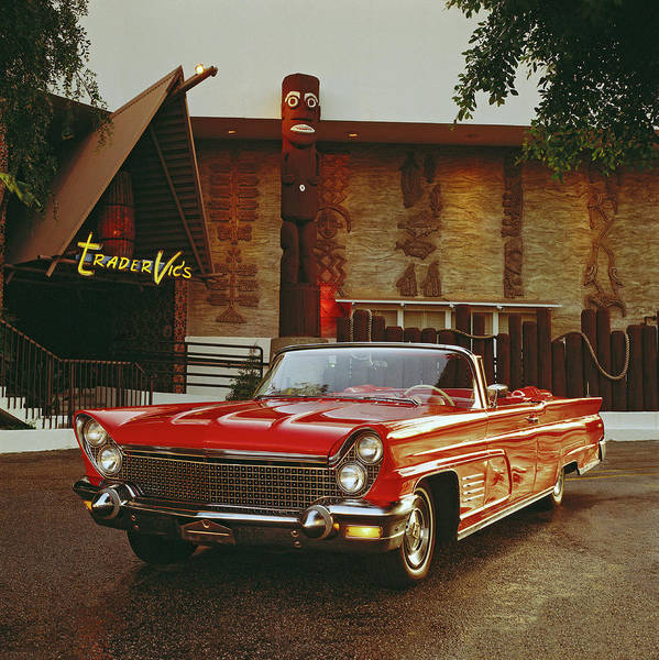 Alcohol Photograph - 1960 Lincoln Continental Mark V by Car Culture