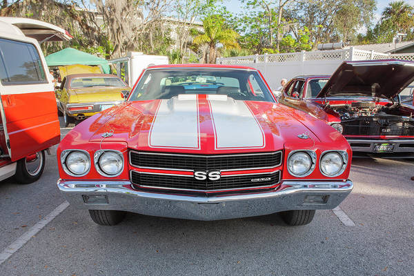 Wall Art - Photograph - 1970 Chevy Chevelle 396 Ss 101 by Rich Franco