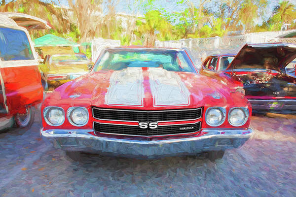 Wall Art - Photograph - 1970 Chevy Chevelle 396 Ss 102 by Rich Franco