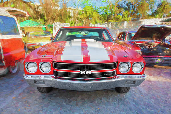 Wall Art - Photograph - 1970 Chevy Chevelle 396 Ss 103 by Rich Franco