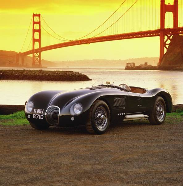 Wall Art - Photograph - 1986 Heritage Engineering Jaguar C-type by Car Culture