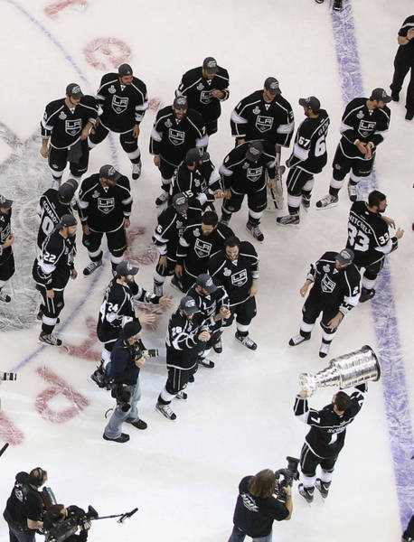 Stanley Cup Playoffs Photograph - 2012 Nhl Stanley Cup Final - Game Six by Bruce Bennett