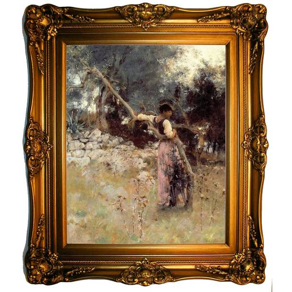 Wall Art - Painting - A Capriote 1878 John Singer Sargent by Celestial Images