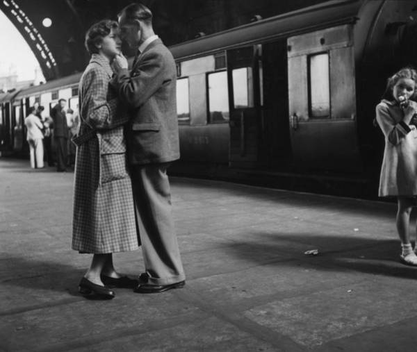 Photograph - A Fond Farewell by Erich Auerbach