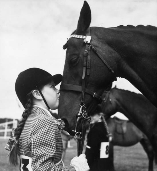Photograph - A Girls Best Friend by Erich Auerbach