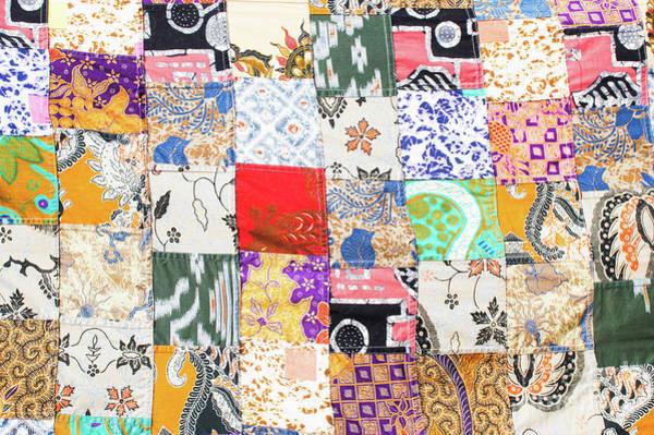 Wall Art - Photograph - A Patchwork Cloth by Tom Gowanlock