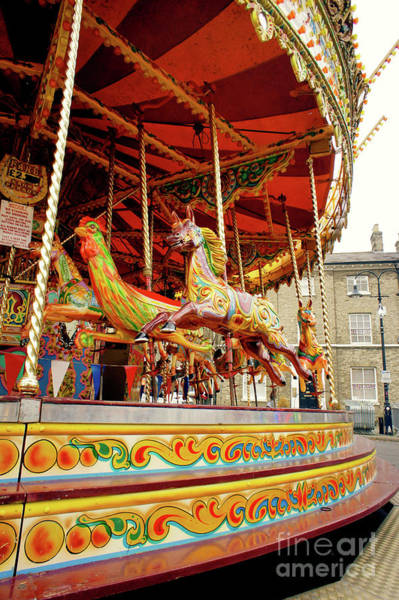 Wall Art - Photograph - A Traditional Carousel by Tom Gowanlock