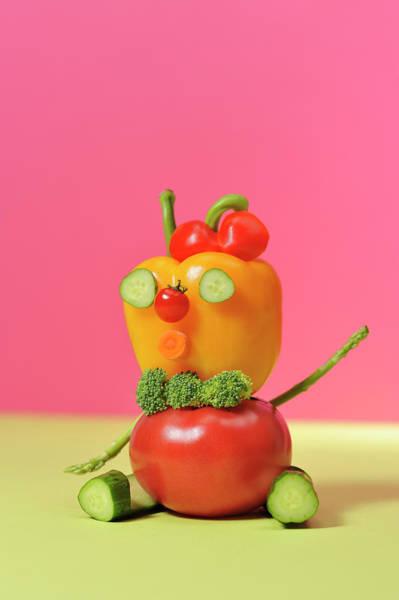 Wall Art - Photograph - A Vegetable Doll by Yagi Studio
