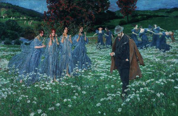 Vienna Painting - A World by Maximilian Lenz