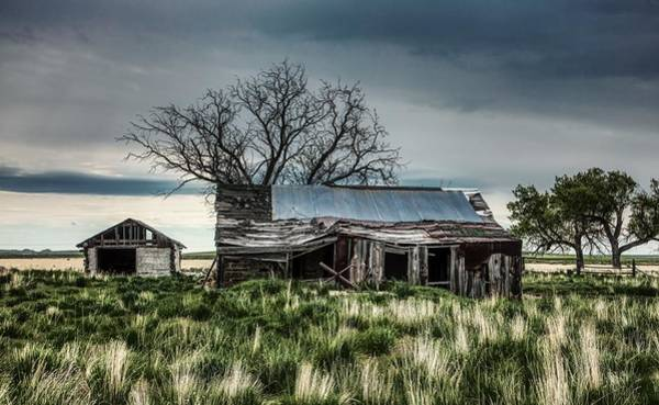 Wall Art - Photograph - Abandoned In Wyoming by Mountain Dreams