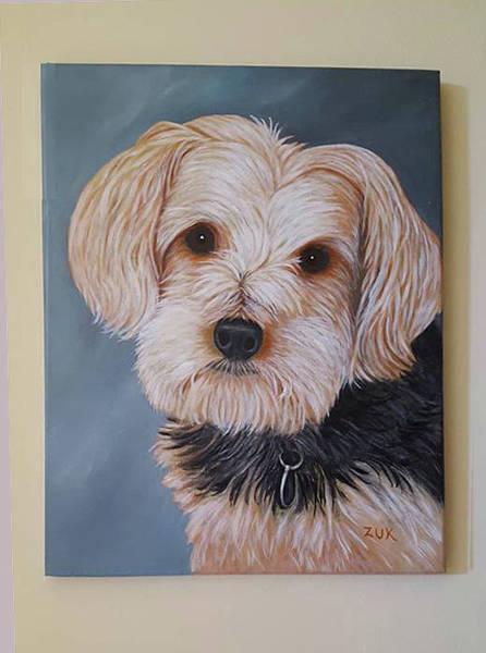 Painting - Abby by Karen Zuk Rosenblatt