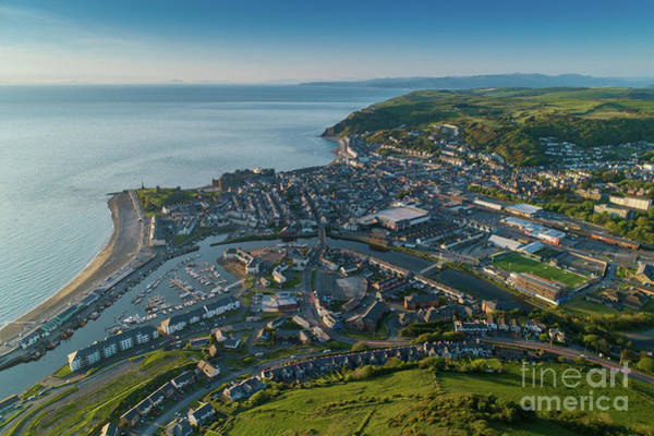 Photograph - Aberystwyth From The Air by Keith Morris