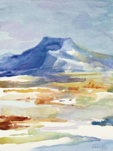 Butte Painting - Abiquiu Butte by Lanie Loreth